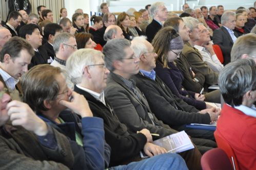 Audience at the first symposium day