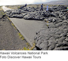 Hawaii Volcanoes National Park. Foto Discover Hawaii Tours