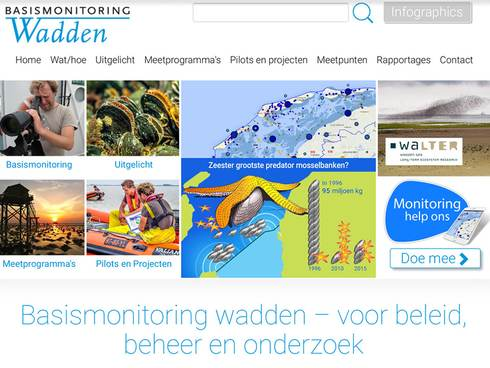 screenshot van de website basismonitoring