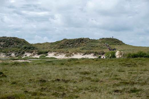 Excursion Terschelling visiting the dunes