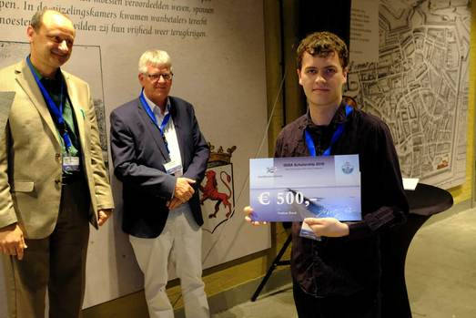 Nathan Bond (Australia) was rewarded with an ISISA2018 scholarship