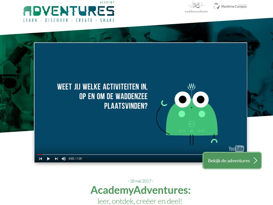 website AcademyAdventures