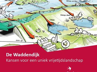 Cover De Waddendijk. Kansen voor een uniek vrijteijdslandschap